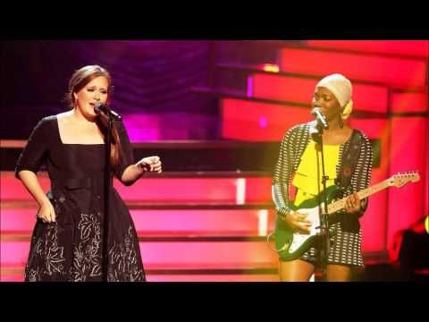 ▶ India Arie  and Adele - Video (Because I am a Queen) - YouTube