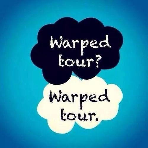 Warped tour!