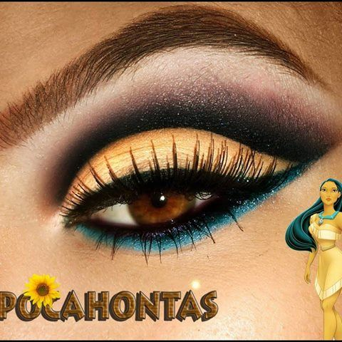 Pocahontas eyes idea for my future wedding at Disneyland.