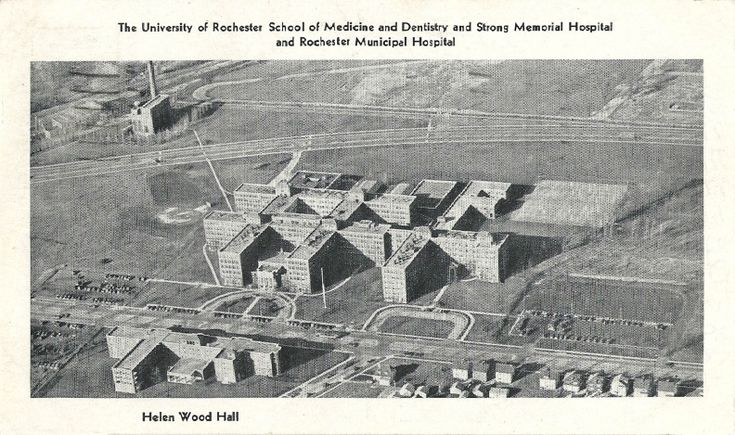 The University of Rochester School of Medicine and Dentistry and Strong Memorial Hospital and Rochester Municipal Hospital  Postmarked: 1936