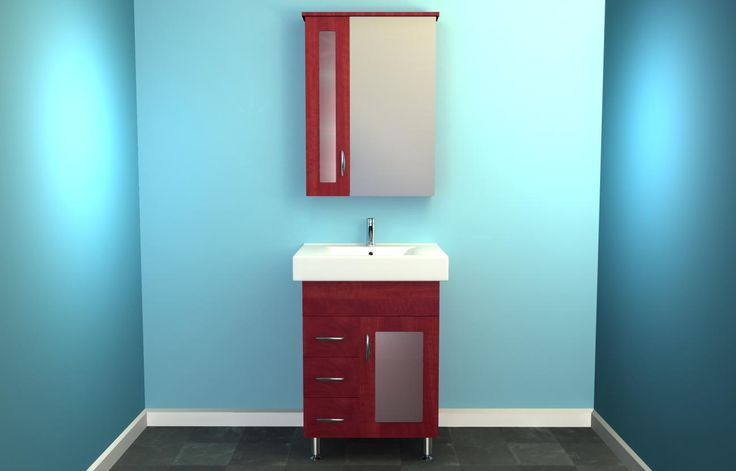 live news update: Cherry Vanity Cabinet Transitional ...