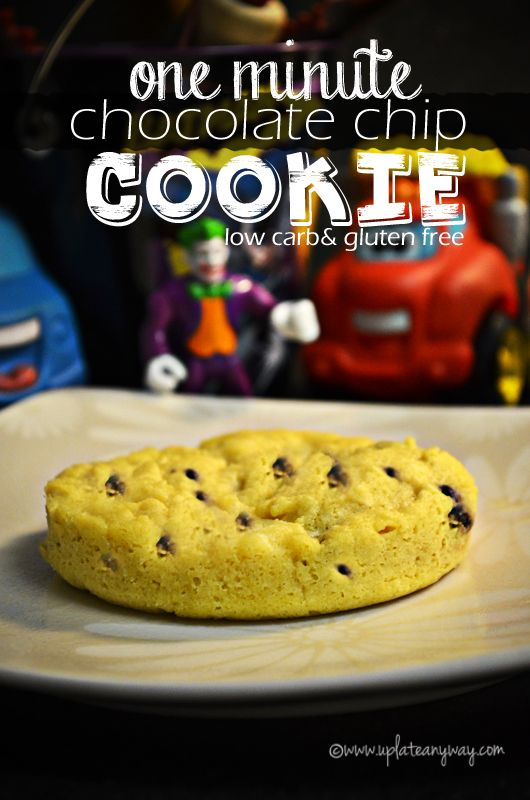 Chocolate Chip Cookie - Let your cookie cool to room temperature (it will be crisp *and* soft) 5g net carbs