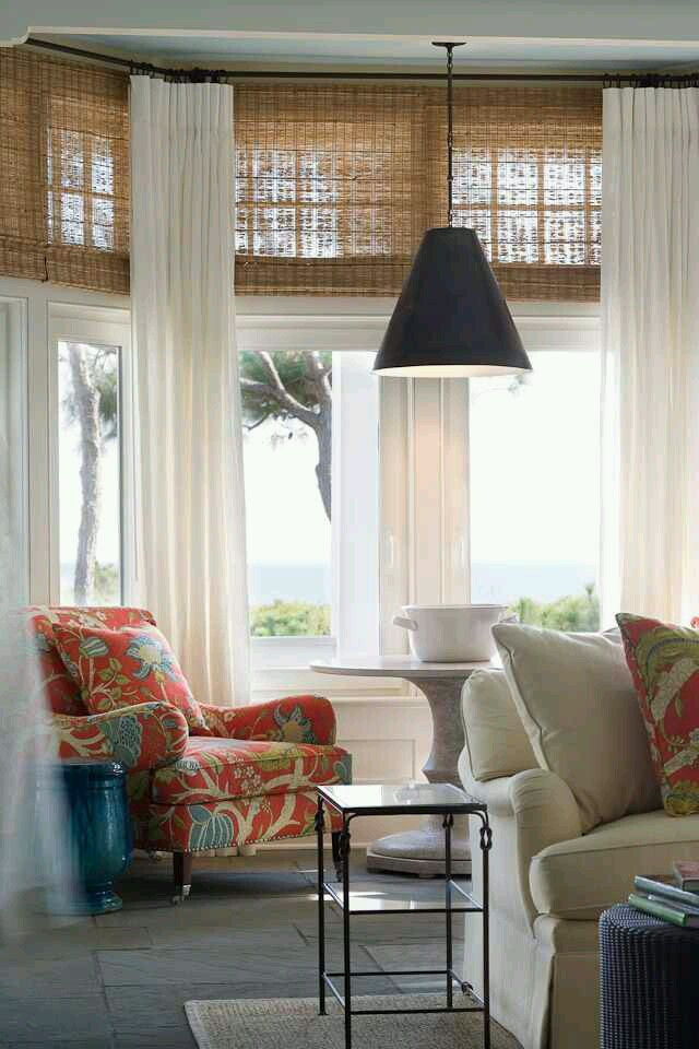 Best 25 tropical window treatments ideas on pinterest - Off white curtains for living room ...