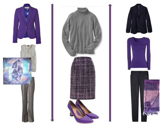 The Vivienne Files: 75/25: A Common Office Wardrobe, and Signature Purple