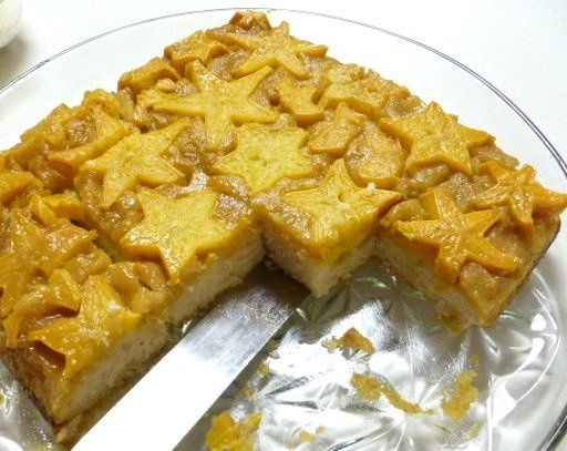 Make and share this Star Fruit (Carambola) Upside-Down Cake recipe from Food.com.