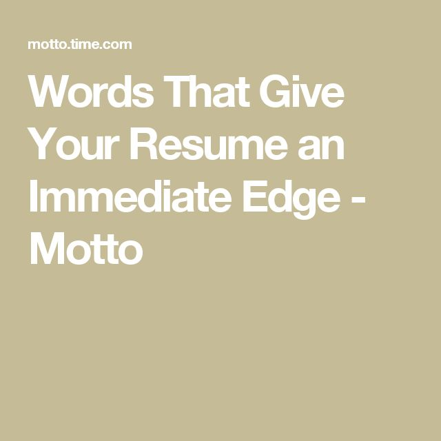 25+ parasta ideaa Pinterestissä Resume words Ansioluettelo - words to use in your resume