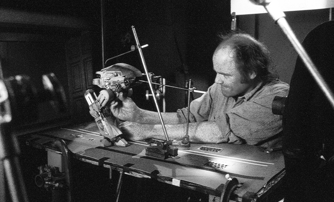 Gavin Rothery - Directing - Concept - VFX - Gavin Rothery Blog - The Legendary Phil Tippett AtWork