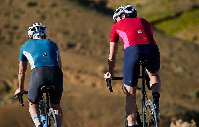 Cuissard Marinette Bleu Marine Pour Hommes | Café du Cycliste