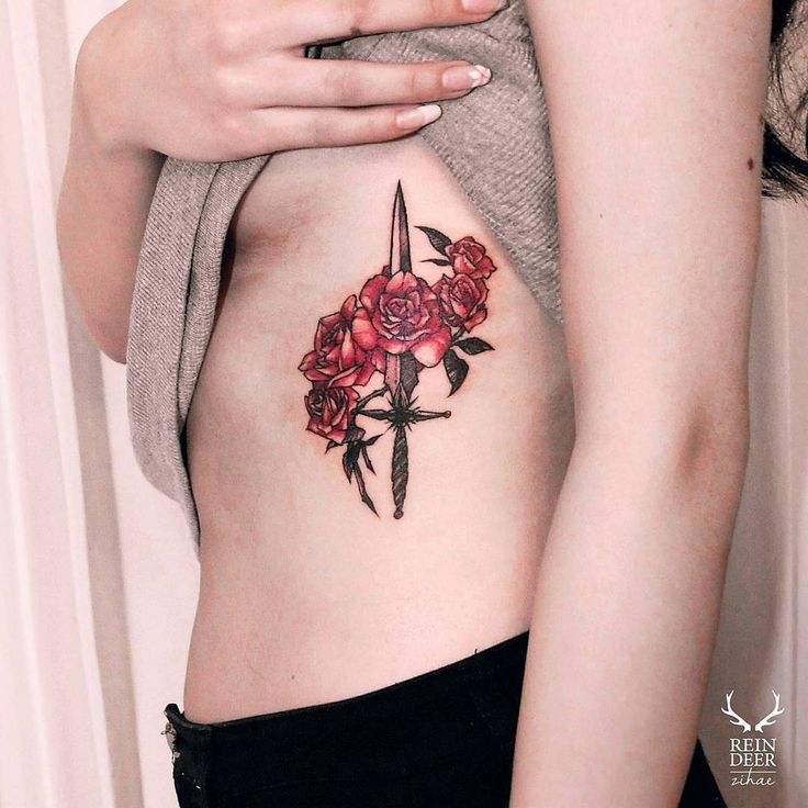 Roses and dagger