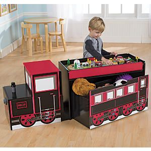 Train Table Toy Boxes And Toy Trains On Pinterest