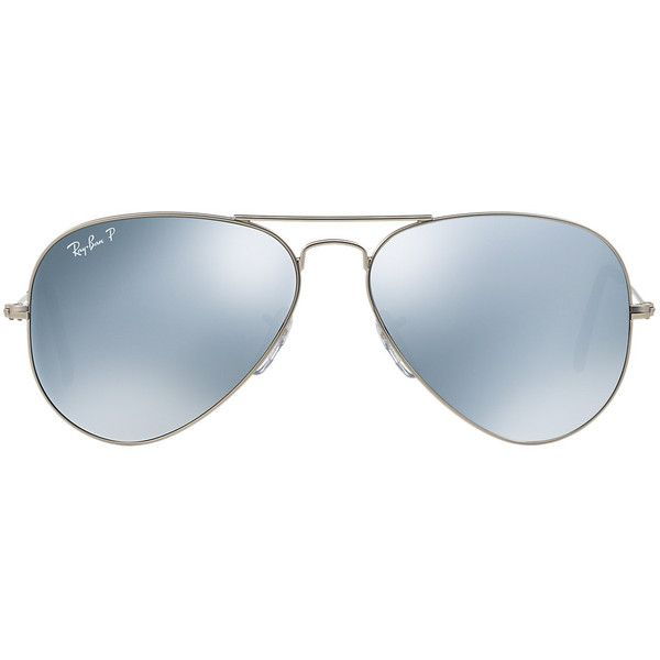 Ray-Ban RB3025 58 ORIGINAL AVIATOR Sunglasses ($200) ❤ liked on Polyvore featuring accessories, eyewear, sunglasses, glasses, ray ban sunnies, aviator sunglasses, ray ban sunglasses, aviator style sunglasses and lens glasses