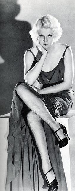 Jean Harlow #legs #1930s