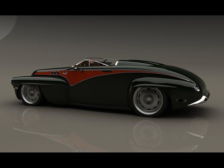 1956 Volvo custom concept