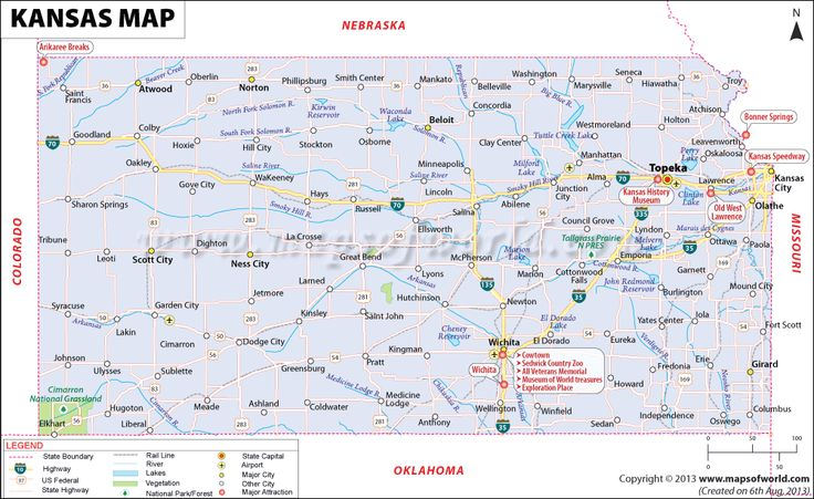 Kansas Map