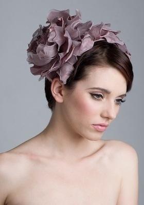 Rachel Trevor-Morgan :: Silk Petal Headdress