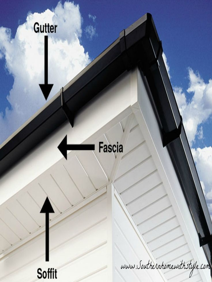 Exterior Home Soffit ideas, and tips for your Home exterior! Must see for building a home!