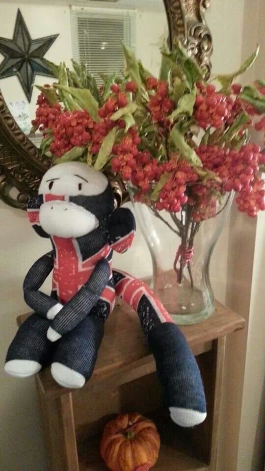 Chaz the Sock Monkey