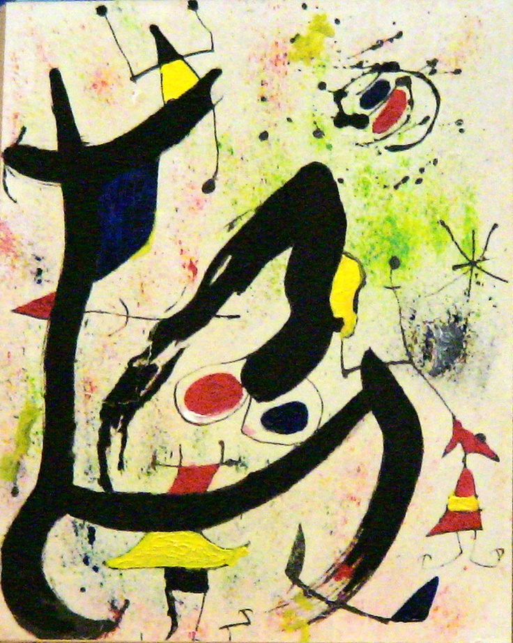 Joan Miro - doesn't care