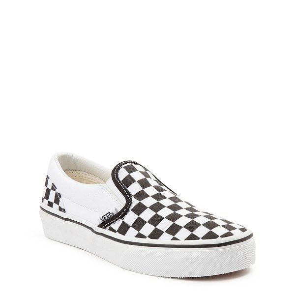 black and white checkerboard vans journeys