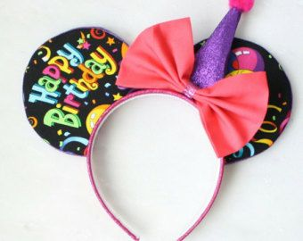 Minnie Mouse Ears Doll Headband by Magnificence on Etsy