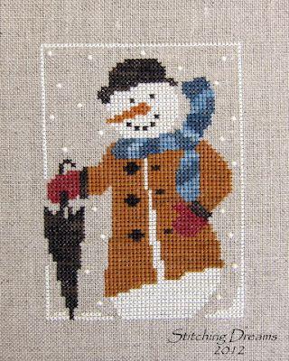 Winston the Snowman