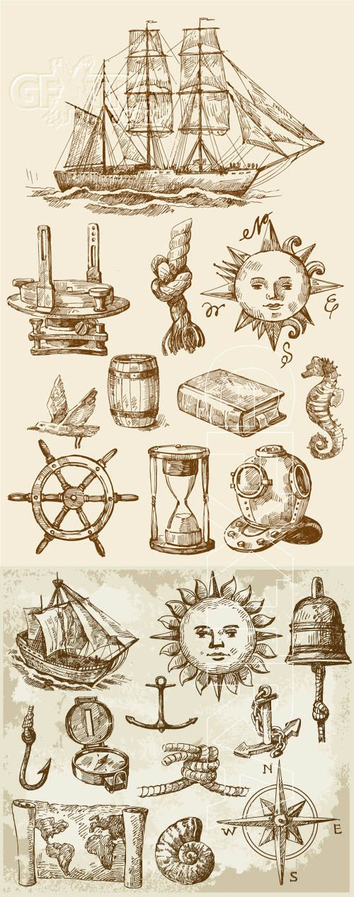 Vintage nautical - inspiration