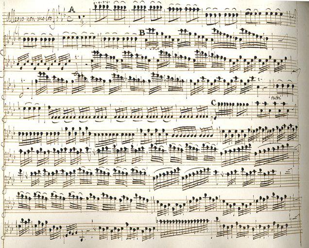 inverno, Vivaldi manuscripts