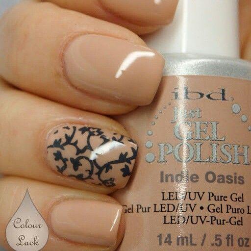Gel nails - ibd Just Gel Polish Indie Oasis