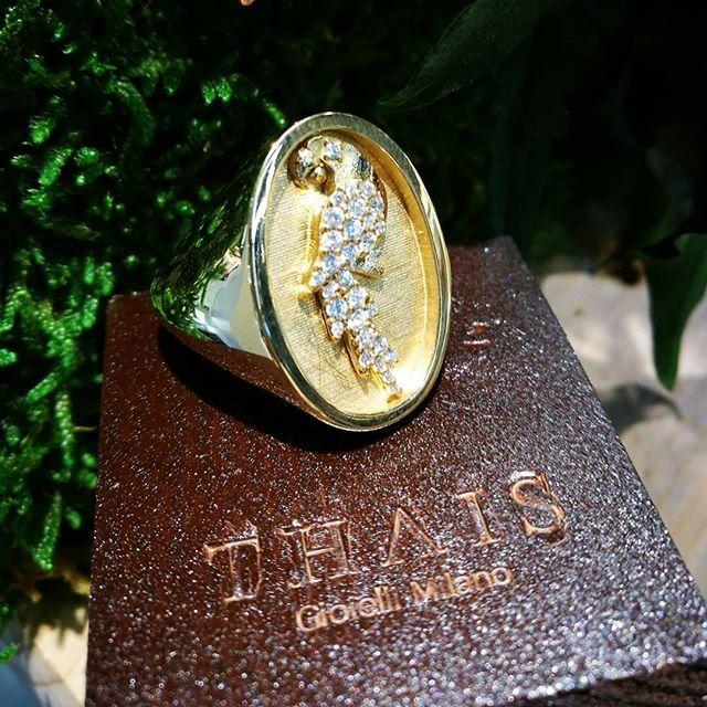 """Anello.collezione """"Brazilian soul""""  la natura è preziosa  #anello #collezione #BrazilianSoul #thaisgioielli #gioielli #madeinitaly #milano #buongiorno"""
