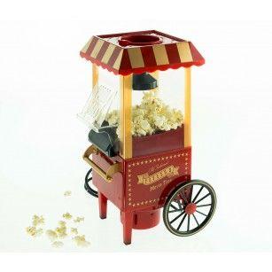 Plaisirs gustatifs - Machine à pop-corn - Éclatez-vous en éclatant le maïs! La machine à pop-corn vous offre un pop-corn sain sans huile!