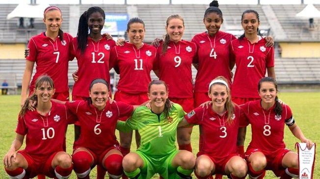 #8 is NW lifer Jessie Fleming on the FIFA U17 World Cup CWNT for 2104!  gOh, Canada! We see thee rise!
