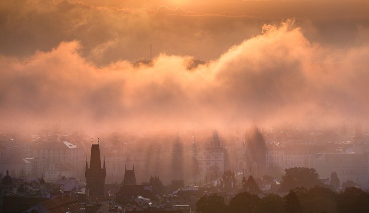 Prague Rays of Light by Michal Vitásek on 500px