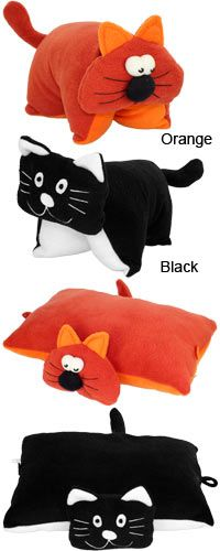 Sweet Cat Fleece Pillow