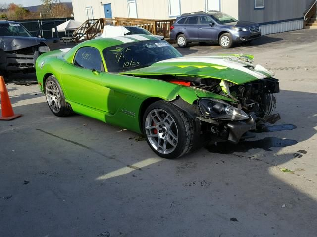Salvage 2008 Dodge Viper  Coupe For Sale | Salvage Title