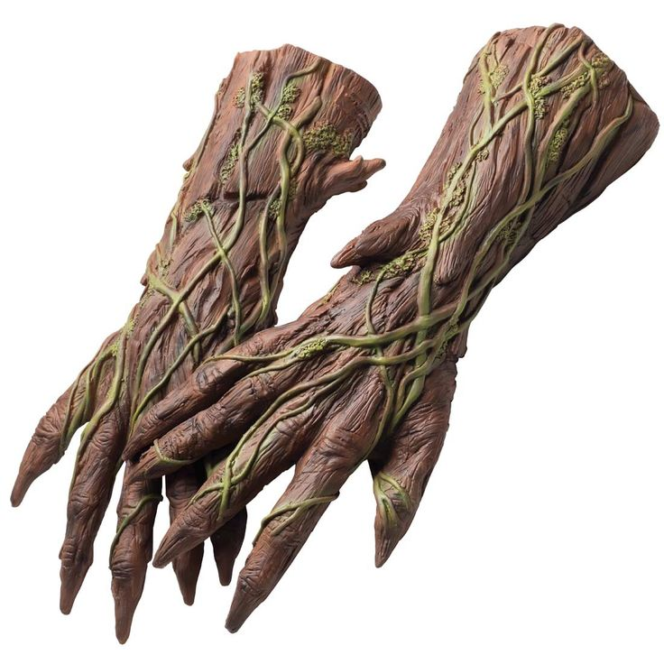 Adult Groot Guardians of the Galaxy Costume Hands | Costume Craze
