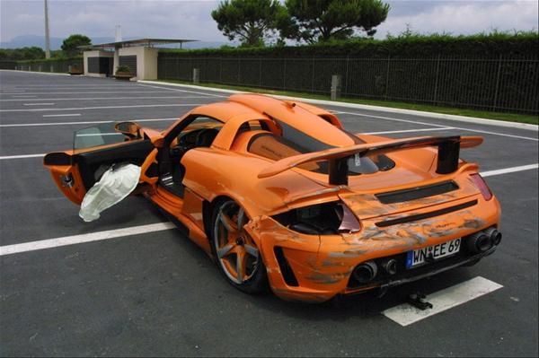 the top 25 exotic supercar wrecks of all time