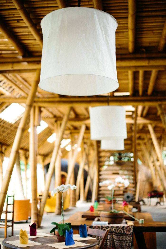 Comfy: The interior of Dapoer at Bambu Indah restaurant. (Photo courtesy of Dulce Photography).