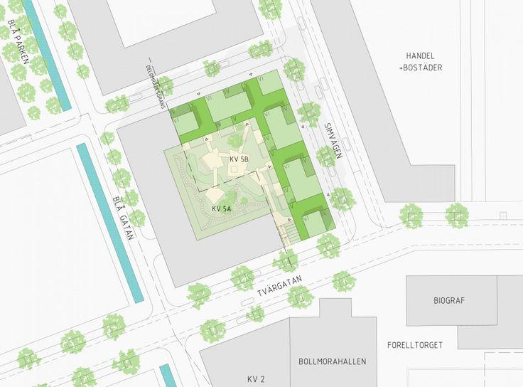 Norra Tyresö Centrum - Joliark  Vinst i markanvisningstävling tillsammans med Småa.