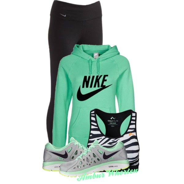 A fashion look from March 2014 featuring NIKE hoodies, NIKE and Only Play. Browse and shop related looks.