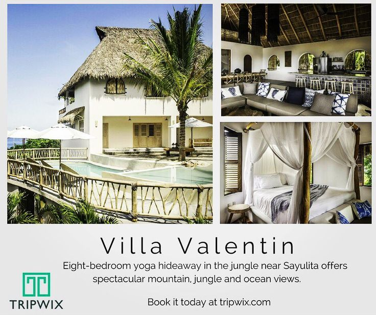 At Villa Valentin youre surrounded by the lushest vegetation - yet you can be secure in the knowledge that restaurants shops and the upbeat village of Sayulita is 2 km down the road.