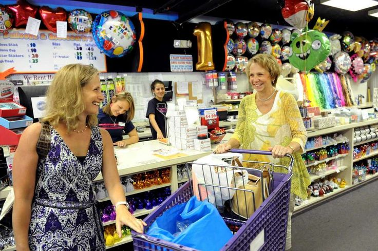 Party suppliesWhat have we learned? For kitchen items, go to home good stores. For office supplies, go to an office supply store. For party supplies, go to a party supply store. Once again, cheaper and better options. Photo: Cindy Schultz /  00019033A