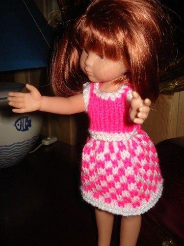Fiche gratuite vêtements de poupées N° 96: ensemble vichy Chéries de Corolle - Le blog de La malle ô trésor de Sylvie