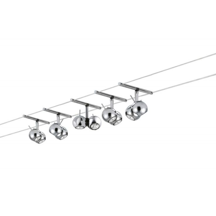 Epic  Schienen Seilsysteme Paulmann Paulmann Sphere Innenraum Oberfl che GU Halogen Wei