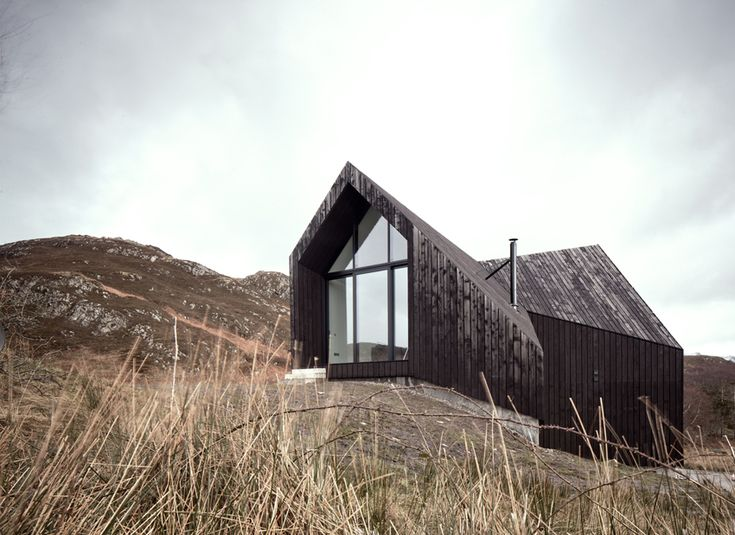 House at Camusdarach Sands, Scotland designed by London based Raw Architecture Workshop