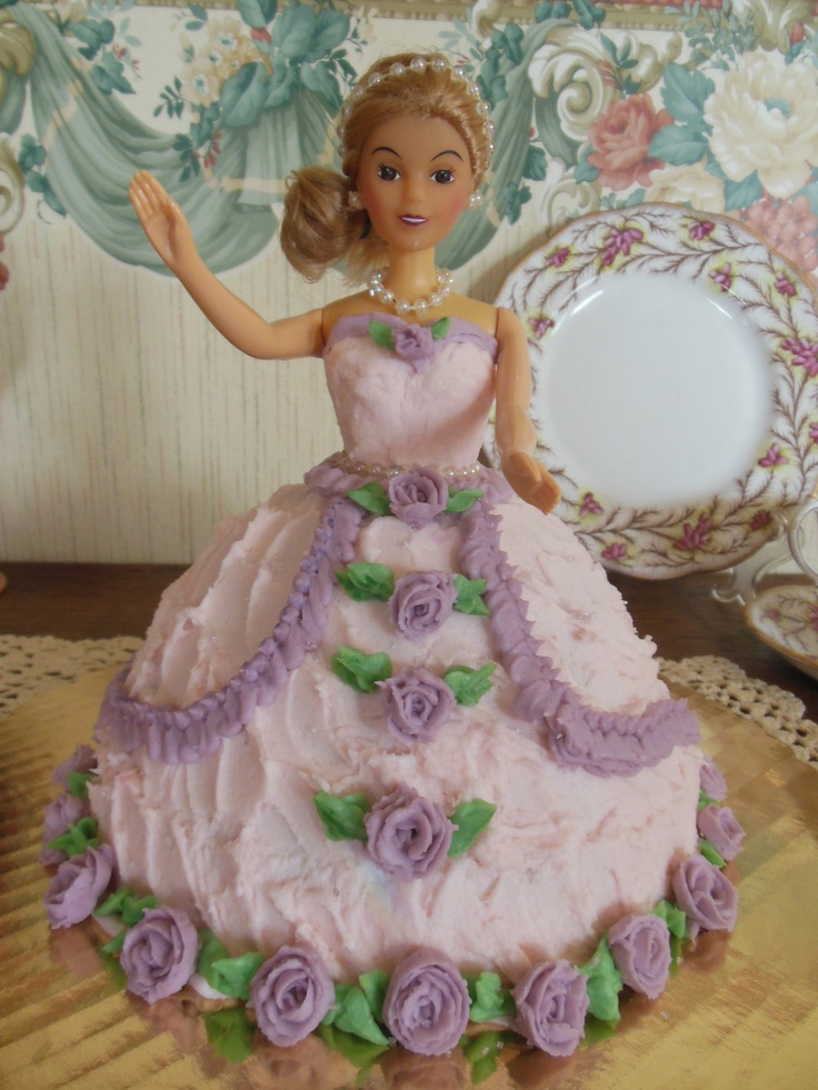Birthday Cake Doll Dress