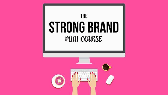 Strong Brand Mini Course | Wonderlass