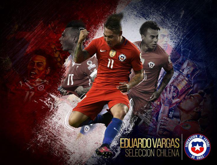 Goleador de la Selección de Chile. Eduardo Vargas unos de mis ídolos chilenos
