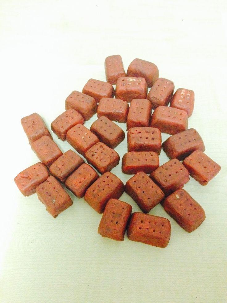 Bakstenen van zoutdeeg