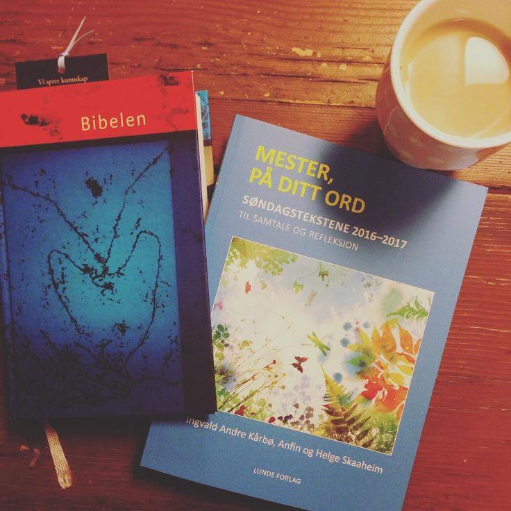 Trenger du en bibel og en oppbyggelig bibelleseplan/andaktsbok til morgenkaffen? Stikk innom nettbutikken vår davel! Jesusnett.com -> butikk #morgenstund #morgenkaffe #kristnebøker #bibel #bibelleseplan #søndagenstekst #jesus❤