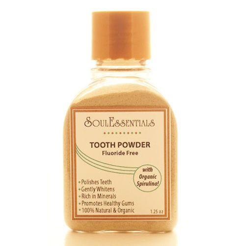 Organic Spirulina Tooth Powder  Natural by SoulEssentialsSkin